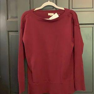 New burgundy sweater Maison Jules medium